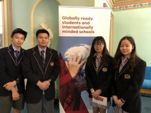 International students visit government house